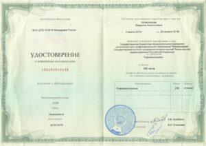 Колесникова Людмила Анатолльевна